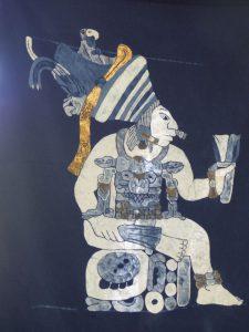Maya-Kunst bei Joya de Ceren. © Foto: Dr. Bernd Kregel