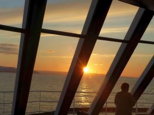 Sonnenuntergang in Nordnorwegen. © Foto: Dr. Bernd Kregel