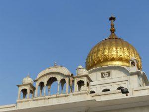 Goldene Kuppel des Sikh-Tempels. Foto: © 2016 Dr. Bernd Kregel