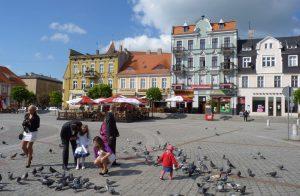 Marktplatz in Gnesen. Foto: © Dr. Bernd Kregel, 2013