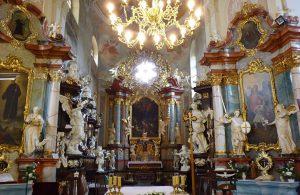 Barocke Pracht in der Benediktinerabtei von Lubin. Foto: © Dr. Bernd Kregel, 2013