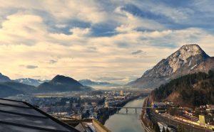 Blick über das Inntal von der Festung Kufstein. © BU/Foto: Rainer Hamberger