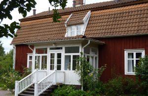Astrid Lindgrens Geburtshaus in Vimmerby. © 2013, BU/Foto: Dr. Bernd Kregel