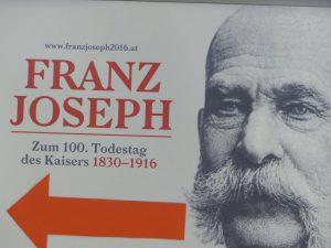 Franz Joseph zum 100. Todestag. Foto: © 2016, Dr. Bernd Kregel
