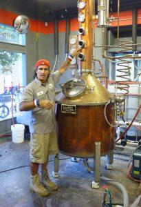 Legal Rum Distillery in Key West. Foto: © Dr. Bernd Kregel, 2014