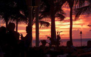 Sonnenuntergang im Latitudes in Key West. Foto: © Dr. Bernd Kregel, 2014
