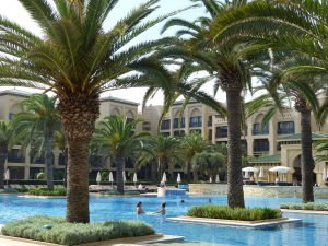 Poolareal des Mazagan Beach Resort. © Foto: Dr. Bernd Kregel, 2015