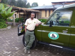 Gorilla Mountain View Lodge am Volcanoes National Park. © Foto: Dr. Bernd Kregel, 2015