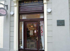 Ein Café in Bratislava (Pressburg). © Thilo Scheu