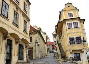 Die Altstadt von Bratislava (Pressburg). © Thilo Scheu