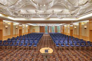 Der Ballsaal im Hilton Frankfurt City Centre. © Hilton Worldwide