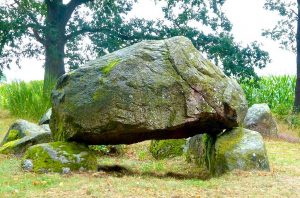 Das Hünengrab von Mellen, um um 3300 v. Chr. © Foto: Elke Backert, 2016