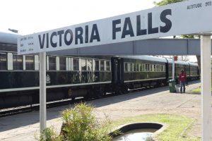 Bahnhof von Victoria Falls. © Foto: Bernd Kregel