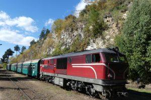 Schmalspurbahn im Rhodopen-Gebirge. © 2016 Foto: Dr. Bernd Kregel