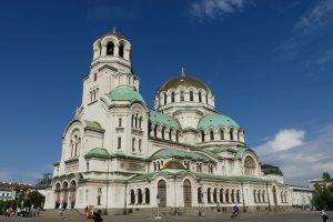 Die Alexandr-Nevski-Kathedrale in Sofia. © 2016 Foto: Dr. Bernd Kregel