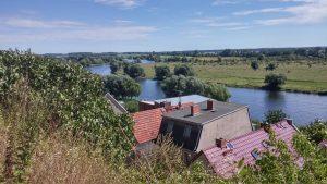 Blick vom Havelberg auf die Havel. © Tourismusverband Prignitz e.V.