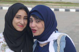 Junge Damen in Alexandria. © 2016, Foto: Dr. Bernd Kregel