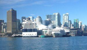 Im kanadischen Vancouver beginnt die Alaska-Reise. © 2016, Foto: Eva-Maria Becker