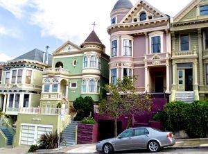 San Francisco mit schönster und vielfältiger Architektur auf steilsten Straßen. © 2017, Foto: Elke Backert