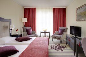 Ein Zimmerbeispiel im Hotel Residenzschloss Bamberg. © Welcome Hotels, BU: Stefan Pribnow