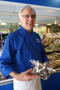 Schokoladenspezialist Heinrich Stubbe in Ottawa. © 2012, Foto: Bernd Kregel
