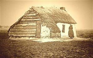 So wohnten die Moorarbeiter, in einer typischen Moorkate. © 2017, Foto: Elke Backert
