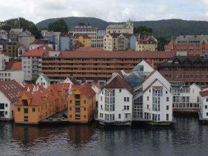 Bergen in Norwegen.