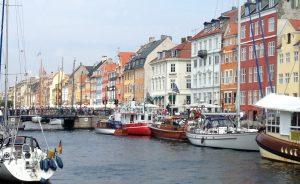Kopenhagen in Dänemark.