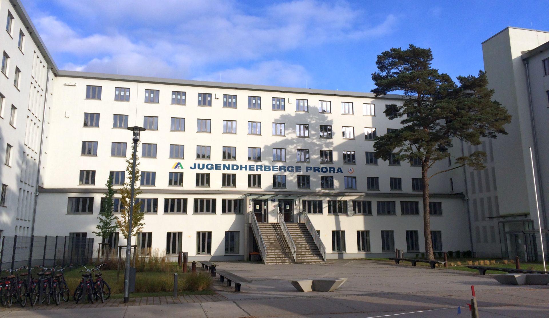 Jugendherberge Prora auf Rügen.