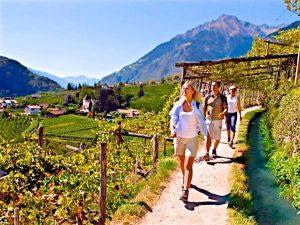 Algund in Südtirol.