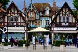 Deauville in der Normandie.