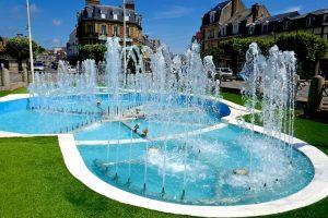Deauville in der Normandie.