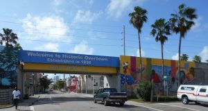 Overtown, Florida, USA.