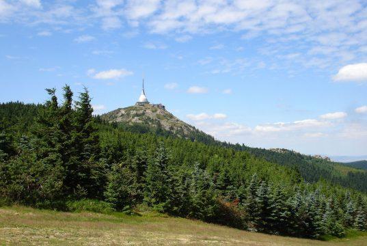 Jeschken in Böhmen.