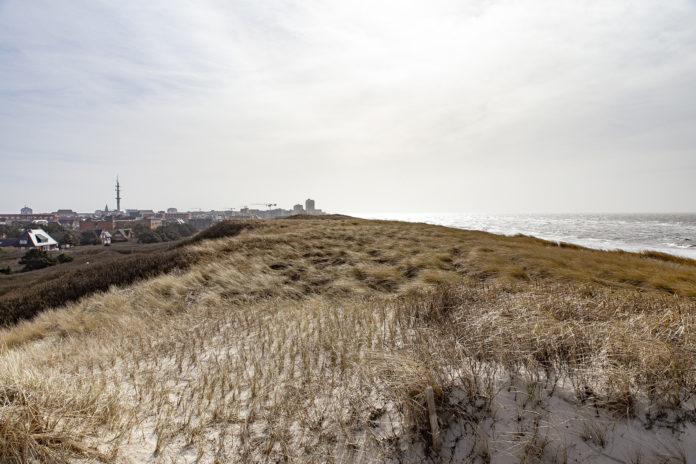Der Blick über die Dünen nach Westerland.