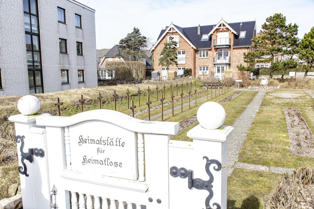 Der Friedhof der Heimatlosen.