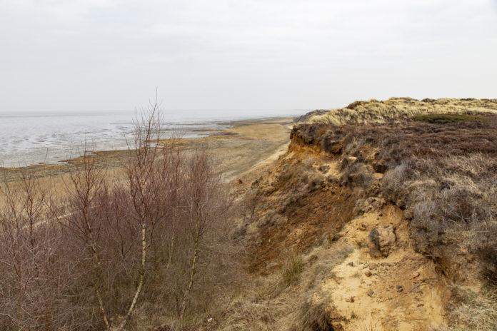 Das Morsumer Kliff.