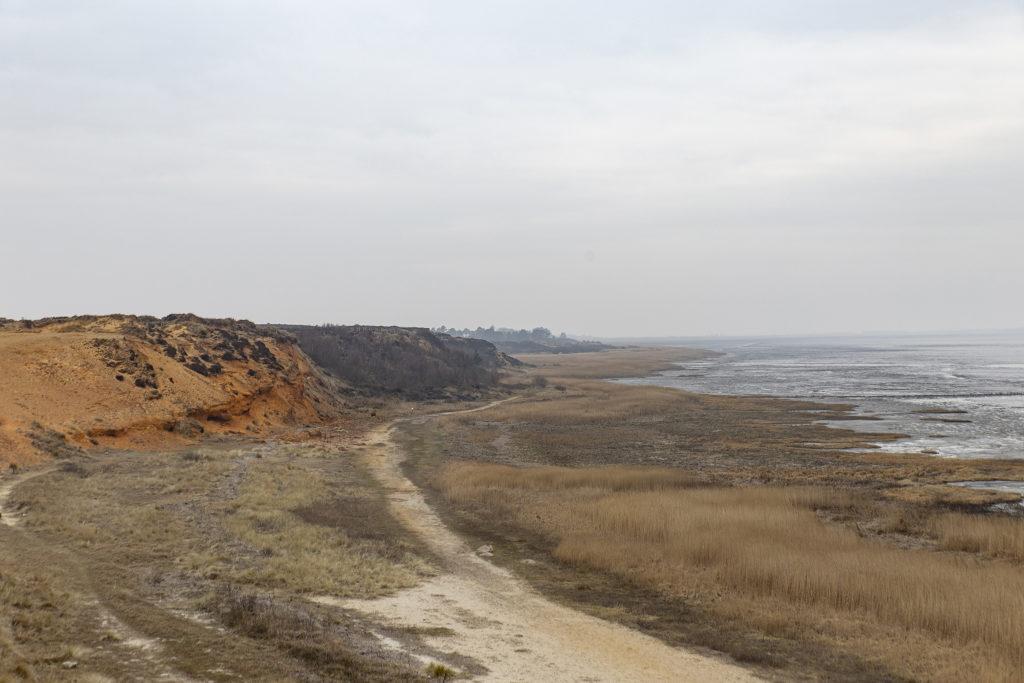 Raue Natur und krasse Farben findet man in Morsum.