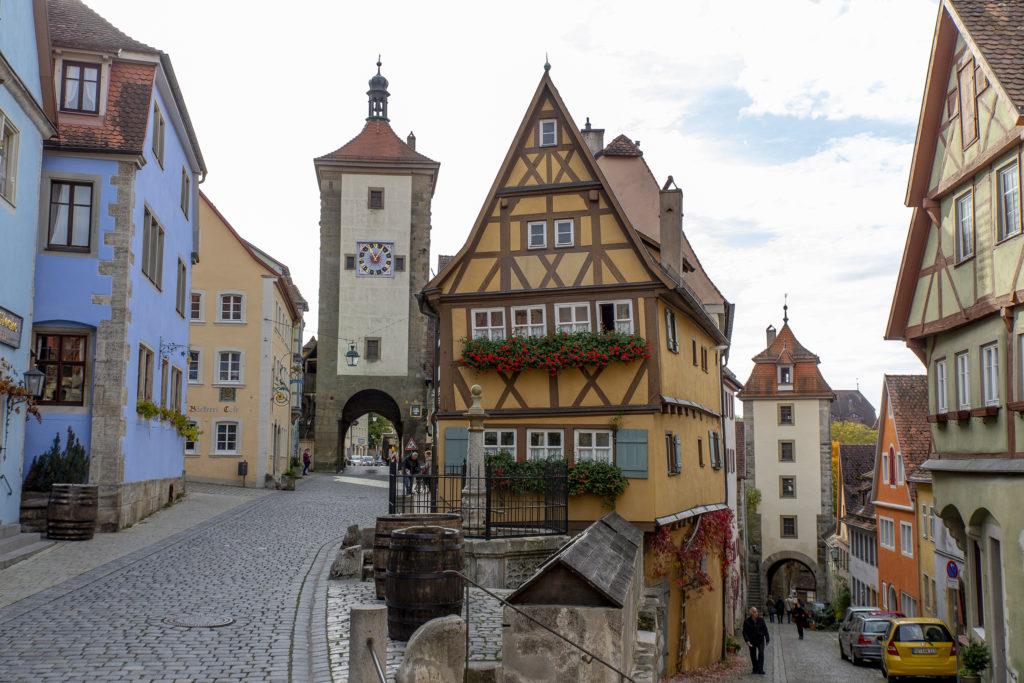 Das Plönlein in Rothenburg ist ein beliebtes Fotomotiv.