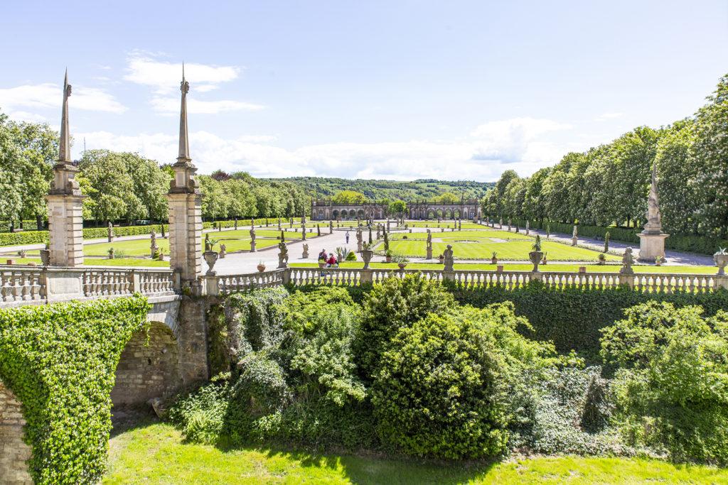 Der Schlossgarten ist ein ruhiger, zauberhafter Ort.