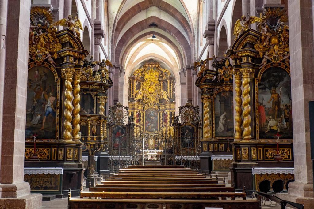 Das Hauptschiff der barocken Klosterkirche.