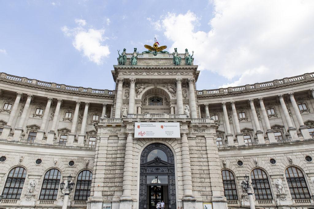 Der neue Teil der Hofburg