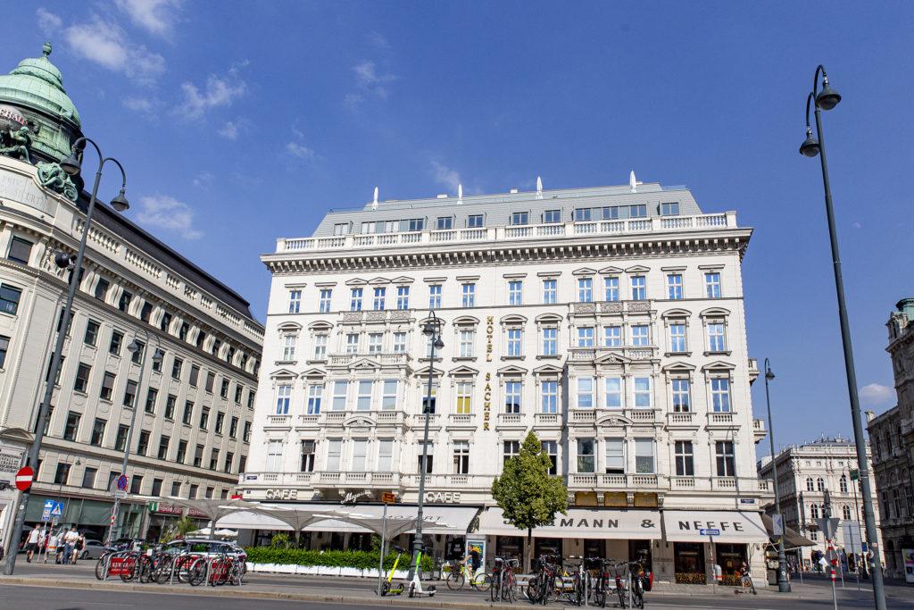Da schwingt der Klang von Luxus und Genuss mit: Das Hotel Sacher