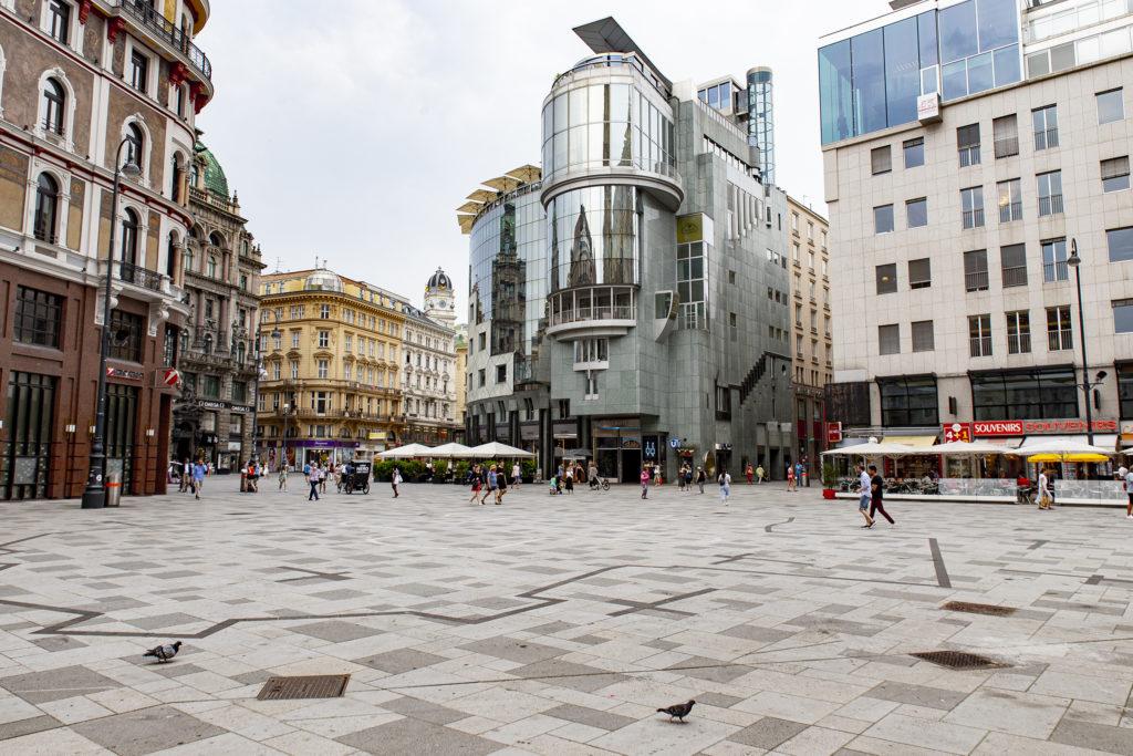 Der Stephansplatz ist Treff- und Knotenpunkt.