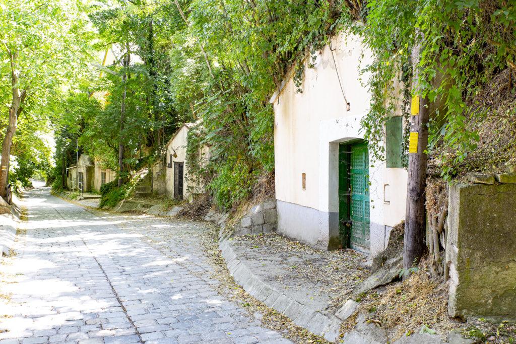 Viele der alten Weinkeller werden noch genutzt.