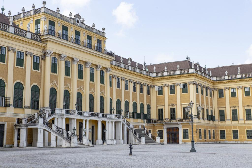 Viele Touristen gab es im Juni 2021 nicht, so leer erlebt man Schloss und Park selten.