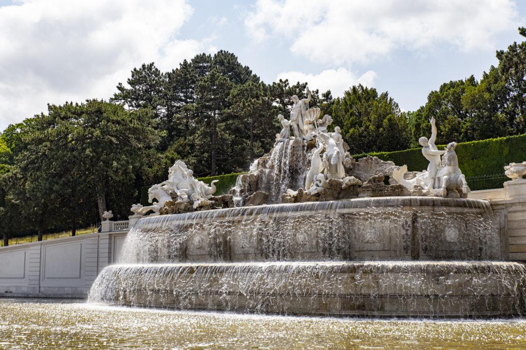 Der Neptun-Brunnen.